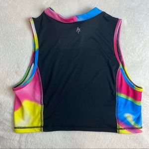 Fit and Famous racer back sports top
